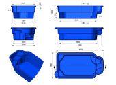 Теплоизоляция Baslux 2 см для модели бассейна Agos