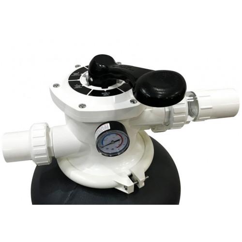 Песчаный фильтр Aquaviva P400 (6,12 м³/час, D=400 мм, 35 кг, верхнее подключение)