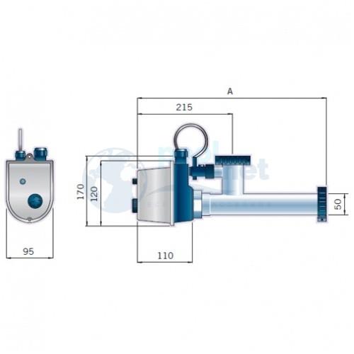Электрический нагреватель Astralpool Eco 3 кВт