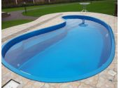 Сборный бассейн Azteck Standart свободной формы, 4х5,6 м, глубина 1,4 м (закапываемый)