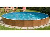 Сборный бассейн Azteck Standart круглый, диаметр 4,4 м, глубина 1,4 м (частично заглубленный)