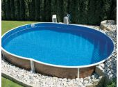 Сборный бассейн Azteck Standart овальный, 4х5,6 м, глубина 1,4 м (частично заглубленный)