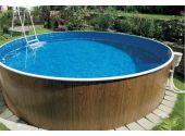 """Сборно-разборный бассейн круглый Mountfield """"DL """" диаметр 3,6 м, глубина 1,1 м. (GRE)"""