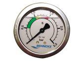 Манометр 0-2,5 бар R 1/8 для всех фильтровальных емкостей Behncke