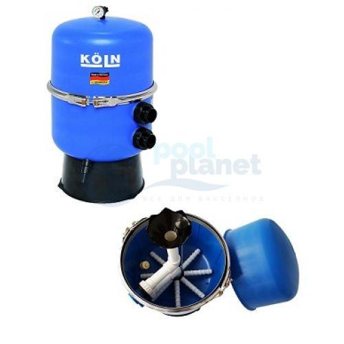 """Фильтровальная емкость Behncke Koln, диаметром 600 мм 1 1/2"""" (в комплекте с манометром)"""