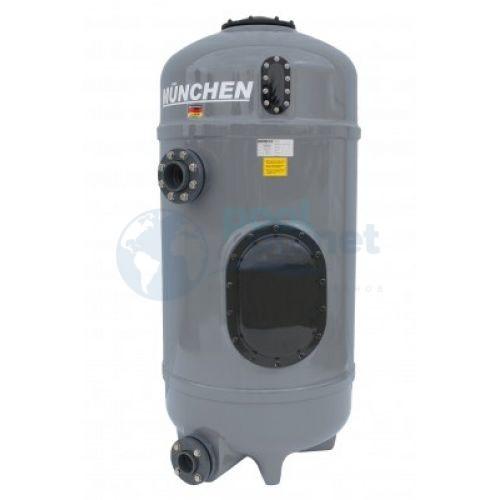 """Фильтровальная емкость Behncke Munchen, диаметром 600 мм, 2"""" (дюзовое дно, без манометра)"""