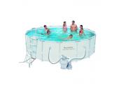 Каркасный бассейн Bestway 56452/56277 с песочным фильтром (488х122)