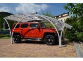 Павильон для автомобиля Idealcover Car Cover (дополнительный сегмент). Цвет профилей - антрацит