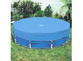 Покрытия для круглого бассейна MTH ф4 м (синий цвет)