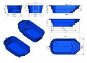Теплоизоляция Baslux 2 см для модели бассейна Egina