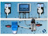 Автоматическая станция дозирования и контроля Etatron Pool Guard 7 PH/CL/T Panel (SCL), 5 л/ч, 7 бар, 0-2 ppm