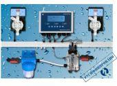 Автоматическая станция дозирования и контроля Etatron Pool Top Guard PH/RX/CL/T Panel (SCL), 5 л/ч, 7 бар, 0-2 ppm