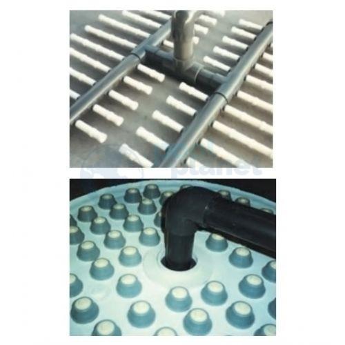 Фильтр ламинированный Fiberpool Nile Д.1400 мм, 76 м³/час, подключение 110 мм, трубч; без обвязки; д.опц; высота загрузки 1,0 м /ZMC14111