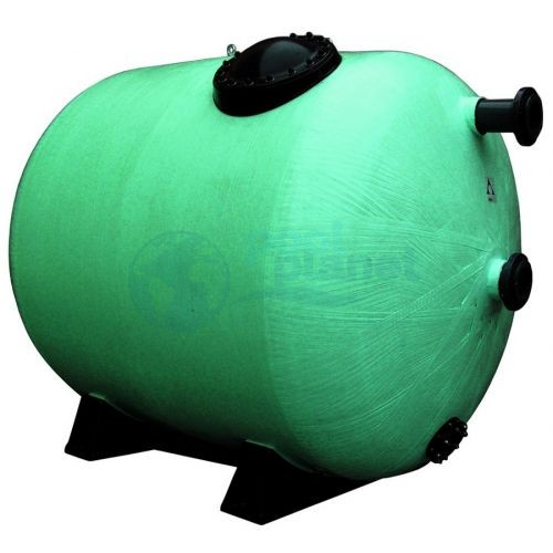 Фильтры Astralpool Rodas. Макс раб. давл. 4 кг/см², фильтрующий слой 1 м. Диаметр 1400 мм, длина 2500 мм, патрубок 110 мм