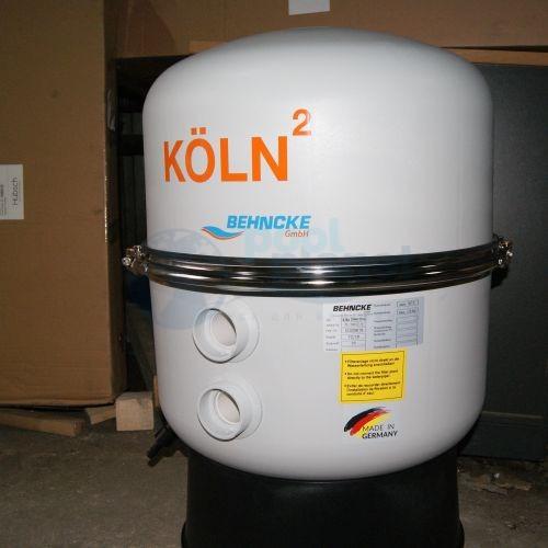 """Фильтровальная емкость Behncke Koln, диаметром 500 мм 1 1/2"""" (в комплекте с манометром)"""
