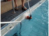 Мини-монощётка Hexagone Lineo для чистки краев бассейнов