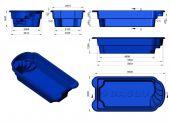 Теплоизоляция Baslux 2 см для модели бассейна Ibiza II