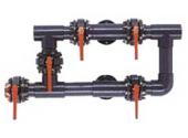 Вентильная группа (обвязка) IML для одного фильтра с патрубком Д.110 (00780) BV030780