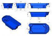 Теплоизоляция Baslux 2 см для модели бассейна Kastos II
