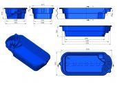 Теплоизоляция Baslux 2 см для модели бассейна Korfu I