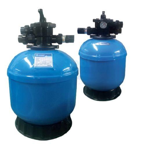 """Ламинированный фильтр Minder G14, d=350 мм, 5 м3/ч. С верхним вентилем, подключение 1 1/2"""", со сливным клапаном."""