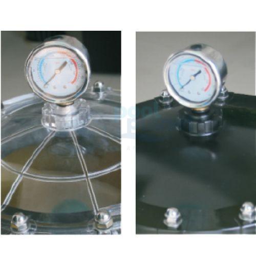 """Ламинированный фильтр Minder GS18, d=450 мм, 8 м3/ч. С боковым вентилем, подключение 1 1/2"""",со сливным клапаном."""