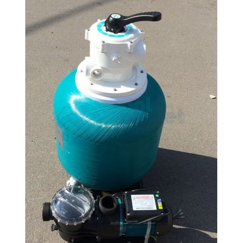 Моноблок Д.350 мм, 5 м³/час (фильтр EPW350 + насос STP35) Pool King /EBW350/