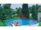 Сборный бассейн MTH Sunny Pool круглый Ø10 м, глубиной 1,2 метра со стенками из высококачественной стали толщиной 0,6 мм.