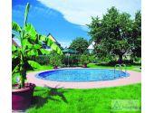 Сборный бассейн MTH Sunny Pool круглый Ø10 м, глубиной 1,5 метра со стенками из высококачественной стали толщиной 0,8 мм.