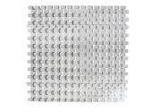 Переливная решетка Netta Grift с центральным соединением, размер 195 x 25 мм, цвет белый