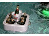 Плавающий стол / Поднос. Ширина - 50 см, длина - 50 см, высота - 14,5 см, глубина - 8,5 см