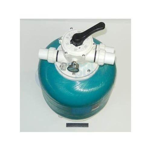 "Фильтр шпульной навивки Д.650 мм, 16 м³/час, верхнее подключение 1½""  Pool King  /KP650/ без вентиля"