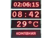 Информационное табло ПТК-Спорт ТИн2.4К (Ж),(С),(З), светодиодных модулей 8 шт