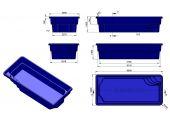 Теплоизоляция Baslux 2 см для модели бассейна Sardynia