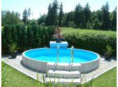 Сборный бассейн Summer Fun Exklusiv круглый 120x450 см