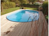 Сборный бассейн Summer Fun Exklusiv овальный 120х525х320 см