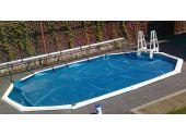 Зимнее покрытие для круглых бассейнов Summer Fun Exklusiv на шнурке, диаметр 4,5 м