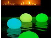Светильник Smart Green плавающий Flatball. Диаметр - 35 см, высота - 27 см