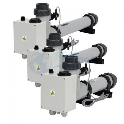 Электрический водонагреватель VagnerPool EOVp-18, 18 кВт, 400 В, пластиковый, с датчиком потока