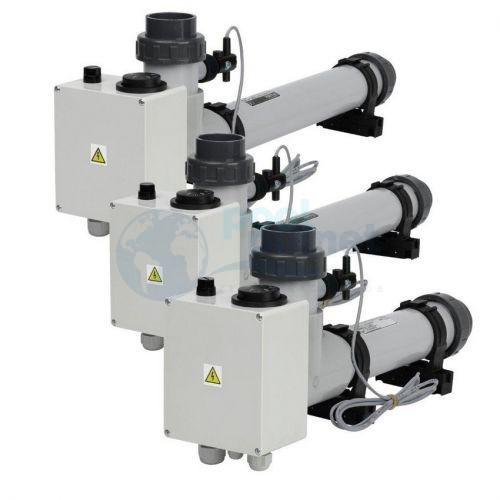 Электронагреватель VagnerPool EOVTi-6, 6 кВт, 230 В, титан, с датчиком потока