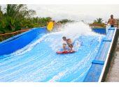 """Генератор искусственной волны для серфинга Single на одного """"райдера"""". 10 х 6 метра, подъём 1 м, 90 кВт"""
