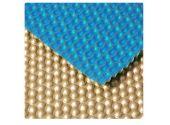 Пузырьковое плавающее покрытие GeoBubble – золотой/голубой цвет (500 mic)