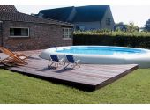 Надувной бассейн Zodiac Original Ovline 2000 овальный, 7,3x11,2 м, глубина 1,2 м