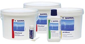 Химия для бассейна ассортимент Bayrol