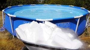 Каркасный бассейн морозоустойчивый разборный