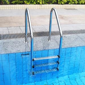 Лестница для бассейна из нержавеющей стали ступень