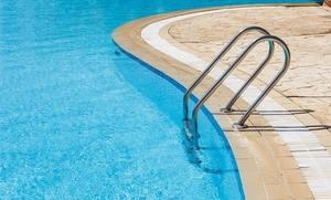 Лестницы для бассейна с поручнями