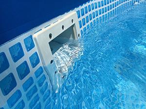 Как правильно выбрать скиммер для бассейна? Встроенные скиммер