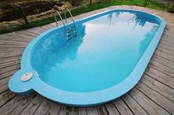 Полипропиленовый бассейн, монтаж